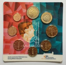 Introductieset Euromunten Nederland 2014 UNC (1 cent - 2 euro) in coincard