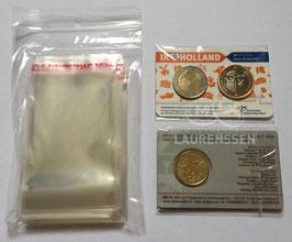 100x zakje voor het opbergen coincard