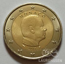 2 euro Monaco 2017 UNC 'Prins Albert II'