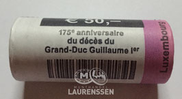 Muntrol 2018 2 euro Luxemburg 'Willem I' 25x 2 euro in rol