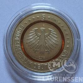 5 euro Duitsland 2018 UNC 'Subtropische Zone' letter F
