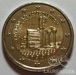 2 euro Griekenland 2017 UNC 'Philippi'