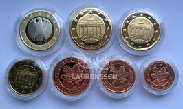 Proof set Duitsland 2006 in capsules (1 cent - 1 euro)