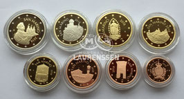 Proof set San Marino 2018 (1 cent - 2 euro) in capsules