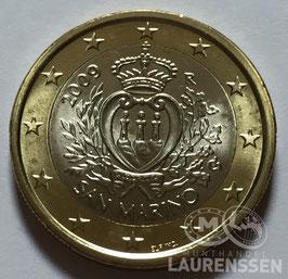 1 euro San Marino 2009 UNC