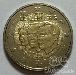 2 euro Luxemburg 2011 UNC 'Jean van Luxemburg'