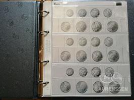 Lindner muntalbum voor series euromunten