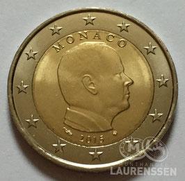 2 euro Monaco 2015 UNC 'Prins Albert II'