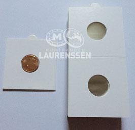 Hartberger munthouders 17,5 mm voor 1 eurocent