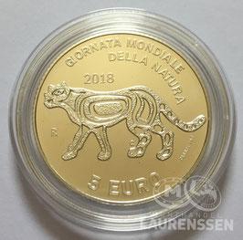 5 euro San Marino 2018 BU 'Wereld Natuurdag'