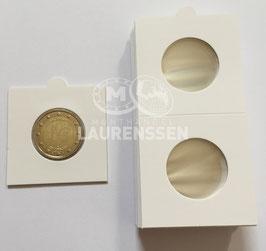 Hartberger munthouders 27,5 mm voor 2 euromunten