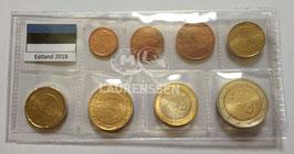 UNC set Estland 2018 (1 cent - 2 euro)