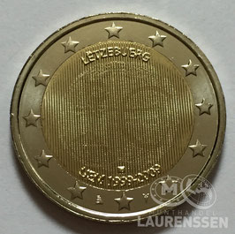 2 euro Luxemburg 2009 UNC '10 jaar EMU'