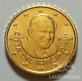 50 cent Vaticaanstad 2013 UNC