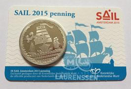 IX SAIL Amsterdam penning 2015 BU in coincard
