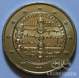 2 euro Oostenrijk 2005 UNC '50 jaar Staatsverdrag'