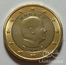 1 euro Monaco 2016 UNC 'Prins Albert II'