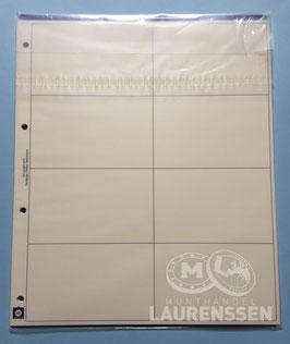 Hartberger GMIR-8 tussenblad voor coincardbladen (10 stuks)