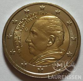 2 euro Griekenland 2017 UNC 'Kazantzakis'
