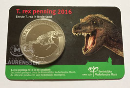 T. Rex penning 2016 BU in coincard