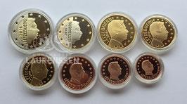Jaarset Luxemburg 2016 Proof (1 cent - 2 euro) in capsules