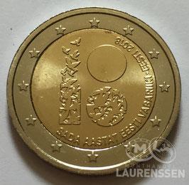 2 euro Estland 2018 UNC '100 jaar Republiek'
