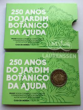 2 euro Portugal 2018 Proof 'Tuinen van Ajuda' in blister