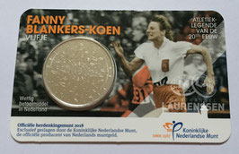 5 euro Nederland 2018 UNC 'Fanny Blankers-Koen Vijfje' in coincard