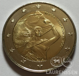2 euro Malta 2014 UNC 'Onafhankelijkheid 1964'