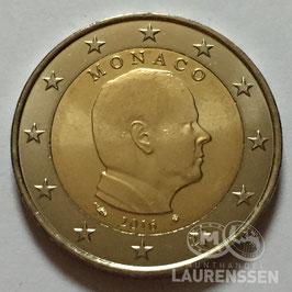 2 euro Monaco 2016 UNC 'Prins Albert II'