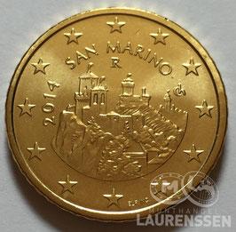 50 cent San Marino 2014 UNC