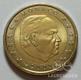 2 euro Monaco 2003 UNC 'Prins Reinier III'