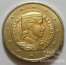 2 euro Letland 2014 UNC 'Milda - Letse Maagd'