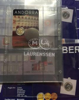 Hartberger S-2x2 bladen voor coincards of bankbiljetten (5 stuks)
