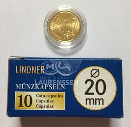 Lindner capsules voor 10 eurocent (20 mm)