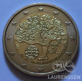 2 euro Portugal 2007 UNC 'EU Voorzitterschap'