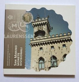 BU set San Marino 2015 (1 cent - 2 euro) in blister