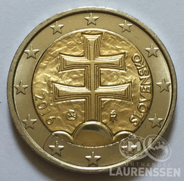 2 euro Slowakije 2016 UNC 'Wapen van Slowakije'