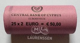 Muntrol 2017 2 euro Cyprus 'Paphos' 25x 2 euro in rol