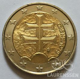 2 euro Slowakije 2011 UNC 'Wapen van Slowakije'