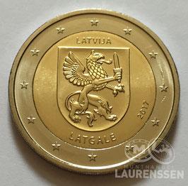 2 euro Letland 2017 UNC 'Provincie Latgale'