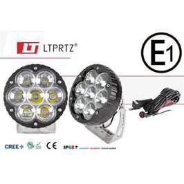 LIGHTPARTZ®70W/11000lm Scheinwerfer 40° Flutlicht