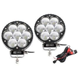 LIGHTPARTZ®70W 11000lm Scheinwerfer 10° Spotlicht