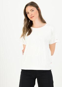 T Shirt flowgirl tee/weiß Blutsgeschwister
