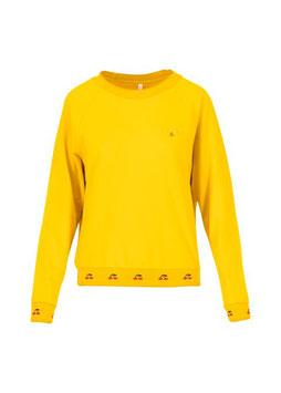 Sweatshirt fresh 'n' fruity gelb