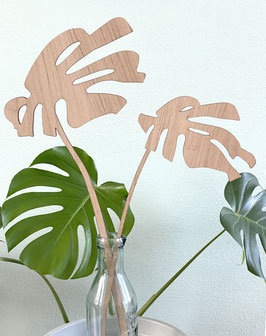 Monstera sculptuur.