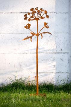 Hogweed steel sculpture (Berenklauw)