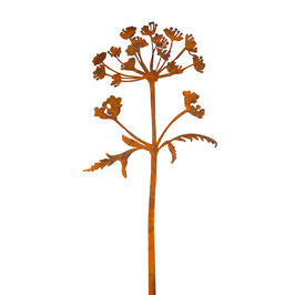 Hogweed steel sculpture (Berenklauw)