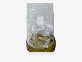 Pilzbrut-Substrat - 2 L im Mikrofilterbeutel