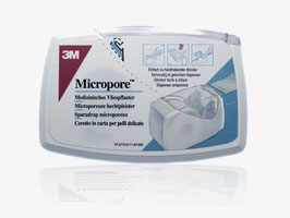 Micropore Vliesklebeband  1,25 cm x 5 m